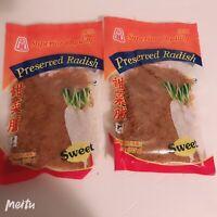 2x Preserved Radish Sweet Minced Free Shipping