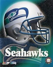 Seattle Seahawks Throwback 8x10 Color NFL Logo Photo