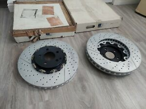NEW GENUINE OEM MERCEDES AMG FRONT ROTOR SET 2194210212 (PAIR / L AND R)