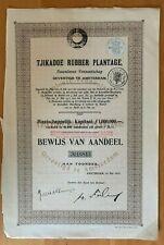 Tjikadoe Rubber Plantage - Amsterdam
