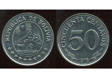 BOLIVIE   50 centavos 1978