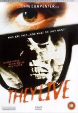 THEY LIVE - 2002 Rody Piper Horror, John Carpenter New & Sealed UK Region 2 DVD