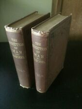 The Evolution of Man 1879 Antique Book Illustrated vols 1&2 Ernst Haeckel