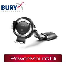 THB Bury Powermount Qi Universal Wireless Charging Phone Cradle - Adaptable Arm