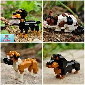 Mini Nano Micro Diamond Building Blocks Educational DIY Gift Toy. Dogs and Cats.