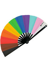 New Daftboy Pride Inclusion Festival Rave Parade Party Fan in Rainbow Lgbt -Sale