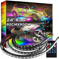 Mutli Color Under Glow Underbody System Zone Neon LED Strips Light Fit Buick Q