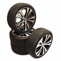 VW CC Aluradsatz 18 Zoll Aluräder Chicago Sommerreifen 235/40R18 Continental 7mm