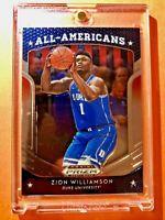 Zion Williamson 2019-20 ROOKIE PANINI PRIZM DRAFT PICKS ALL AMERICANS RC #100