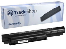 AKKU 6600mAh für Sony Vaio VPC-EA1S1E VPC-EA1S2C VPC-EA1S3C VPC-EA1S5C