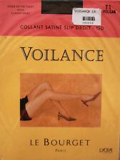 NEUF @@ COLLANT SATINé 15 DEN VOLCAN + LE BOURGET Voilance + 1