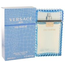 Versace Man Cologne 6.7 Oz Free With Sample Perfume