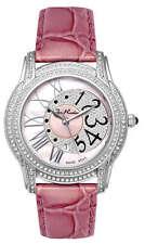 Joe Rodeo Women's JBLY3 Beverly 1.35ct Diamond Leather Strap Quartz Watch