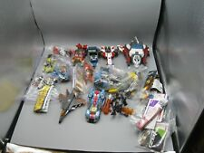 Lot of 20 Transformers Energon Dinobots Planes, Cars, Helicopters, Dinosaurs