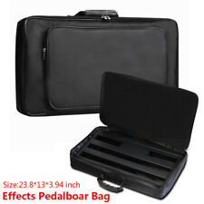 Universal Effect Pedal Board Bag Black For 60cm*33m Guitar Effect Pedal Case