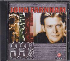 JOHN FARNHAM - 33-1/3 - CD - NEW -