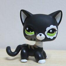 Hasbro Littlest Pet Shop Collection LPS Toys Short Hair Cat Blythe Black Rare
