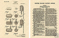 US Patent for FIREWORKS Art Print  READY TO FRAME!!!!1939 vintage firecracker