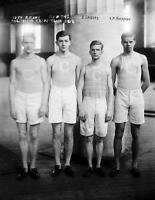 "1908 Columbia Relay Team Vintage Photograph 8.5"" x 11"" Reprint"
