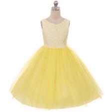 DUSTY ROSE Flower Girl Dress Prom Recital Dance Graduation Birthday Bridesmaid