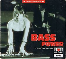 Bass Power Various Audio's Audiophile Vol. 2  24 Karat Zounds Gold CD OOP