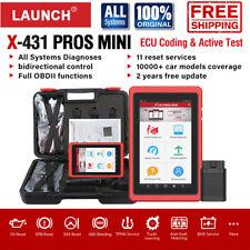 2020New! Launch X431 Pros mini V PRO3 Auto Diagnostic Scan Tool OBD2 Code Reader