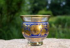 Sexy Old Steinschönau Vase 1910 Gold Uninstall Kor Wonderful Handmade