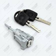 VW MK4 Golf Set 1 Barril De Cerradura De Puerta + 2 Llaves Delantero Izquierdo