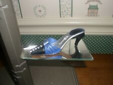 2000 -Just The Right Shoe Figurine-Midnight Promises -Good Condition- Box/Coa