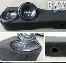 "Nissan Navara D40 Dual Cab twin 10"" sub box - 10inch Fibreglass ported - $299"