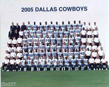 2005 DALLAS COWBOYS FOOTBALL TEAM 8X10 PHOTO