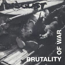 Disgust Brutality of War CD Death Metal Music Earache Records 1994