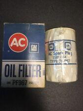 Vintage NOS AC-Delco PF967,25011354 oil filter