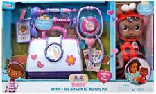 Doc McStuffins Baby Doctor's Bag Set with Lil' Nursery Pal Playset [Ladybug]