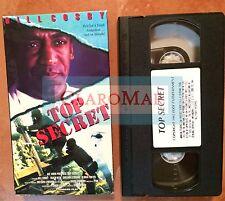 ☀️ Top Secret VHS Movie Bill Cosby Sheldon Leonard Tracy Reed Gloria Foster MINT