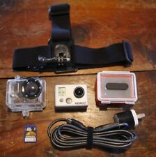 GoPro Hero 2 w/Waterproof Case, Attachments, & 8GB SD Card