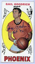 GAIL GOODRICH Autographed Signed 1969 Topps Basketball ROOKIE Card - SUNS AUTO