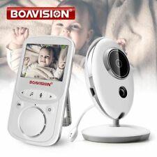 Wireless Audio/Video Baby Monitor Radio Music Intercom 24h Portable Baby Camera