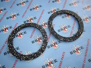 1938-1966 Buick Front Coil Spring Upper Insulators. Pair