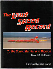Land Speed Record To The Sound Barrier & Beyond 1900s-1980s Segrave Campbell +