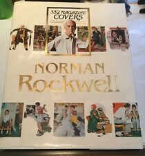 Norman Rockwell Large Hardcover Book 332 Magazine Covers