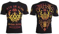 Archaic AFFLICTION Men T-Shirt WORTHING Biker MMA American Fighter M-4XL $40