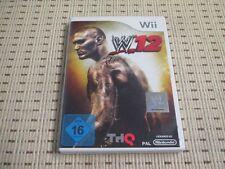 WWE 12 für Nintendo Wii und Wii U *OVP*