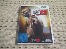 WWE 12 pour Nintendo Wii et Wii U * Neuf dans sa boîte *