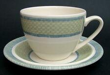 1990's Johnson Brothers Spirit Spirits of Nature Pattern Tea Cups & Saucers VGC