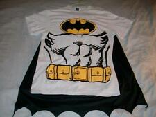 Batman Gray Body Suit with Cape Costume DC Comics T-shirt Men's Medium used