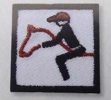 Golf Aufnäher Aufbügler Piktogramm Tennis Motive Abfahrtslauf Eishockey Segeln