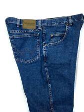 Wrangler Rugged Wear Mens Blue Jeans Classic Stone Wash 35001AI Size 36x30