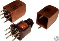 3pcs Variable Inductor RF Coil 45uH - 100uH Litz Wire Ham Radio Hobby (= Toko)