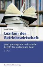 Lexikon der Betriebswirtschaft von Ottmar Schneck (2015, Taschenbuch)